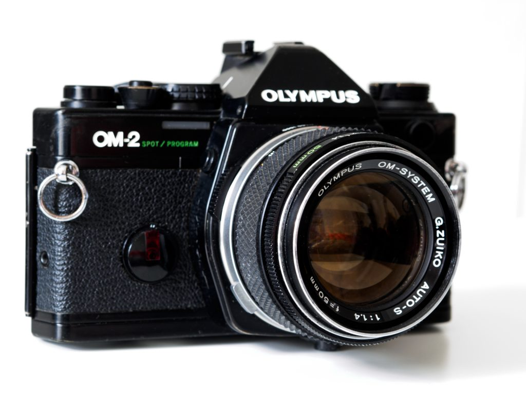 Not a new Camera, an old Olympus OM2 SP