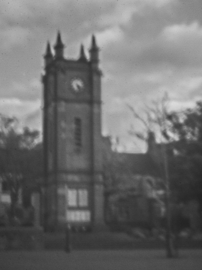 Pinhole camera image