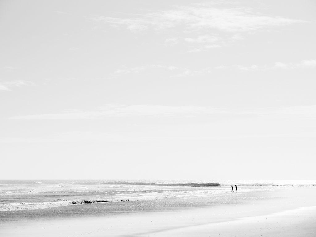 children in the sea