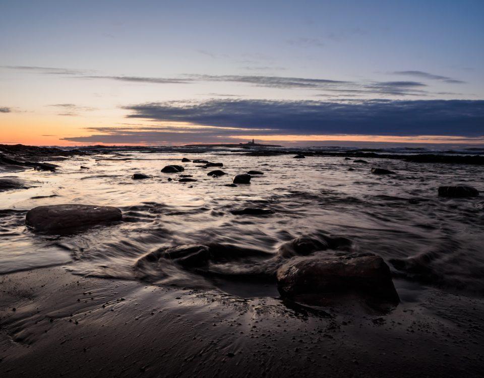 Coquet Island just before dawn