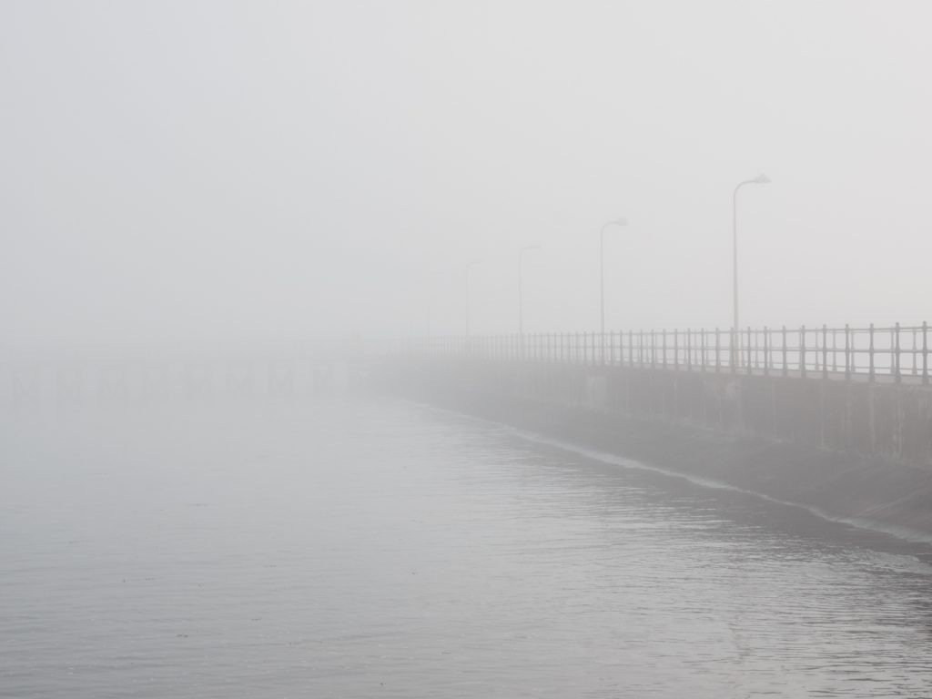 Foggy Breakwater
