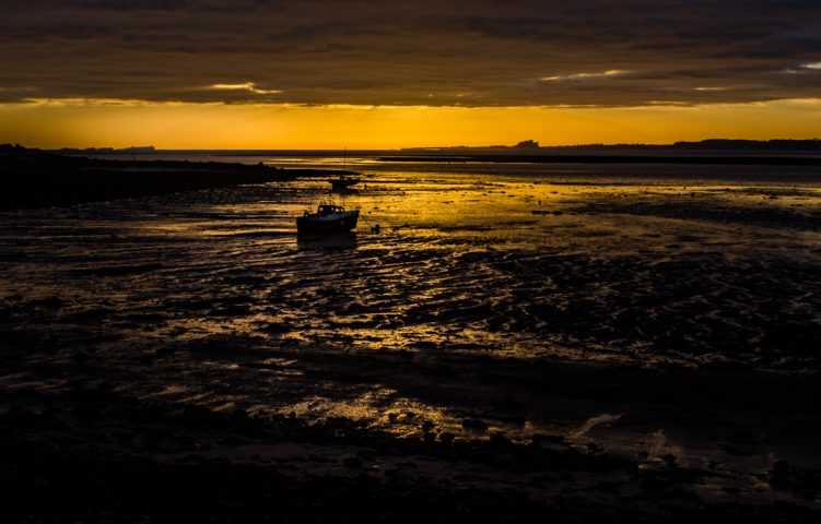 Lindisfarne at low tide