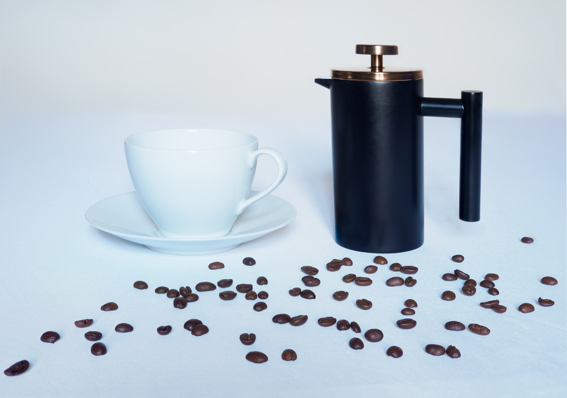 Coffee jug - product photography by Ivor Rackham