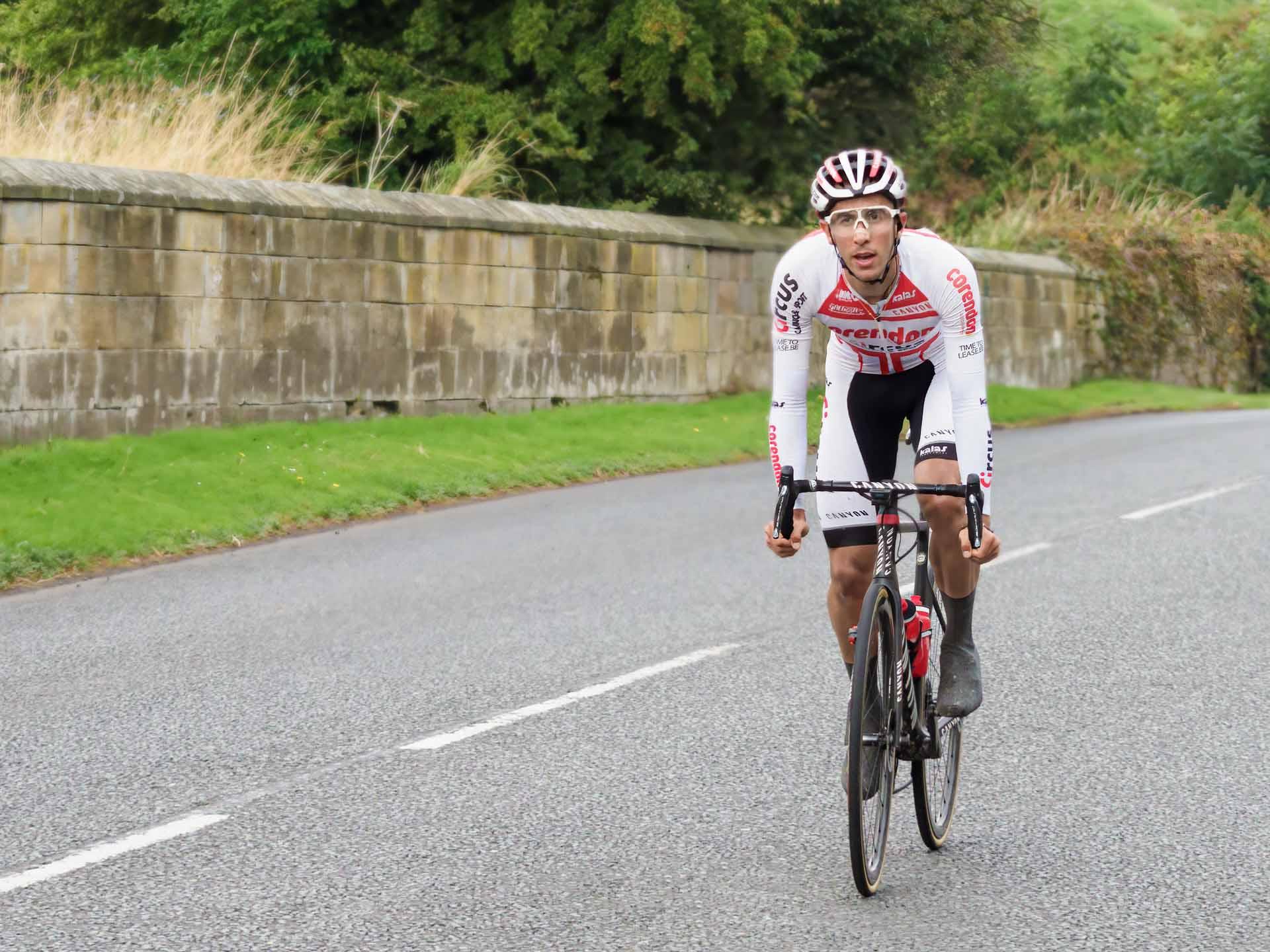 Cyclist - sports photography by Ivor rackham