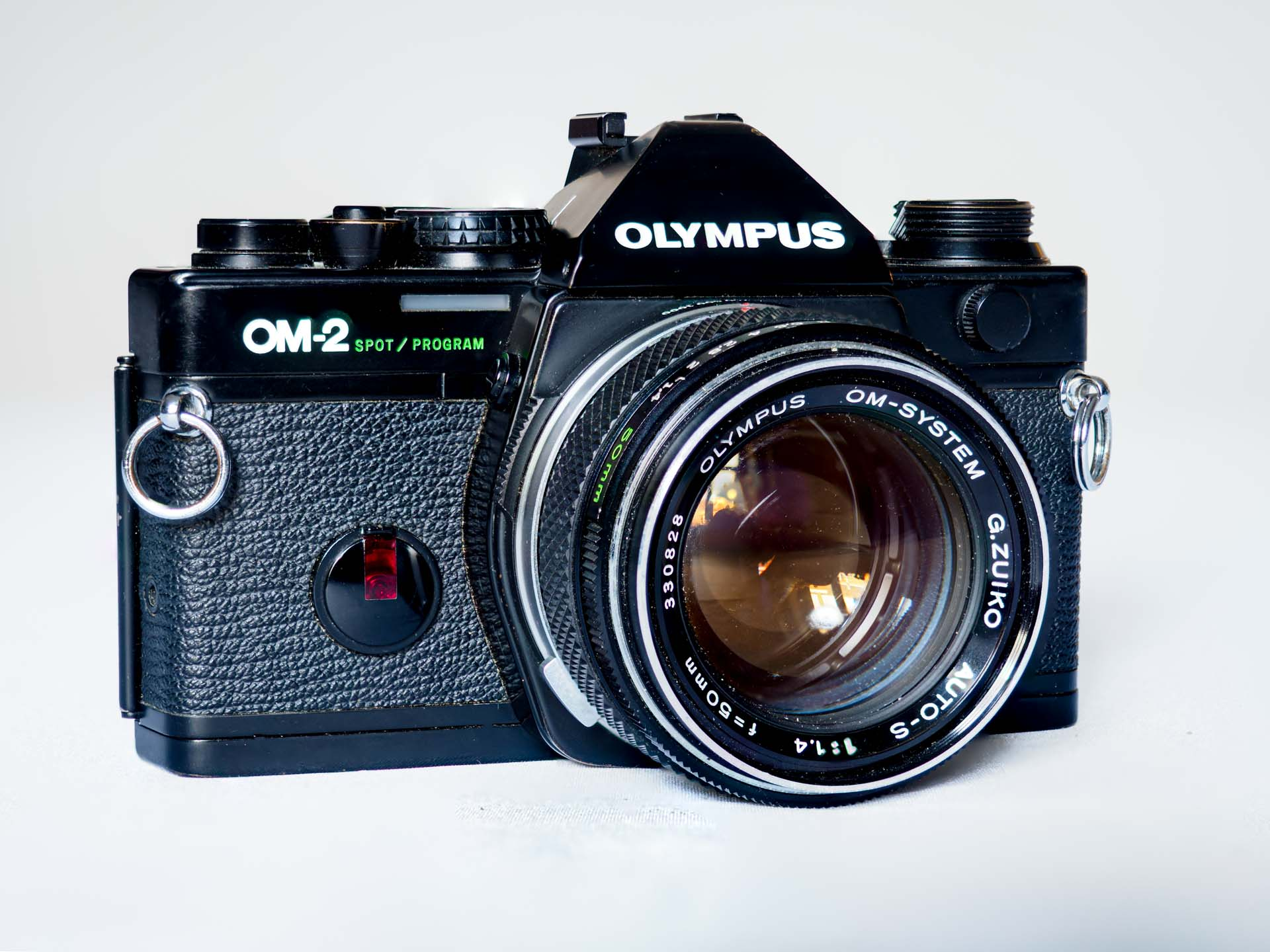 Olumpus OM2 Spot-Program product photography by Ivor Rackham